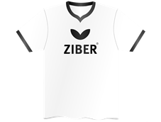 Ziber Shirt White/Black